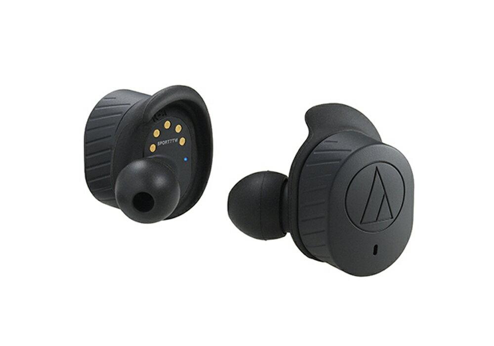 audio-technica - ATH-SPORT7TW-BK(ブラック)(防水機能付き・完全ワイヤレスイヤホン)【店頭受取対応商品】【在庫有り即納】