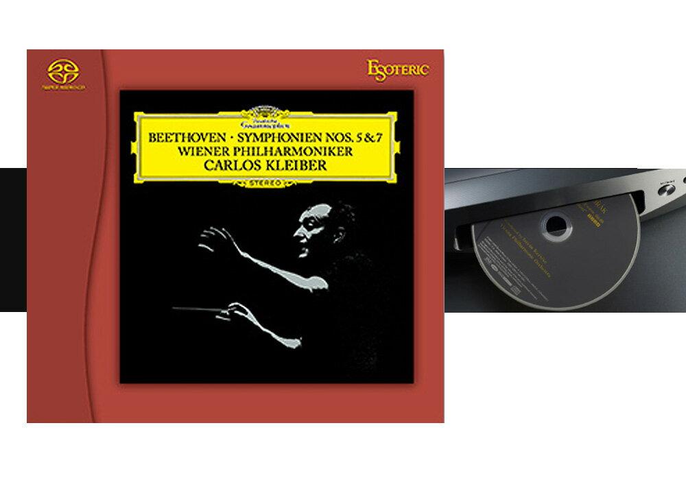 ESOTERIC - ESSG-90190(SACDソフト ベートーヴェン:交響曲第5番&第7番)【店頭受取対応商品】【12月10日初回入荷分売切、12月12日以降入荷次第順次出荷いたします】