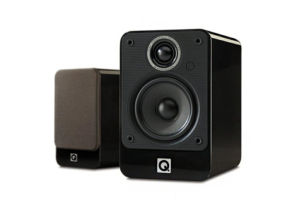 Q-Acoustics - 2010i/グロス・ブラック(ペア)(ブックシェルフ型 スピーカー)《逸品館限定価格》【店頭受取対応商品】【在庫有り即納】