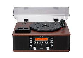 TEAC - LP-R520-WA/ウォールナット(ターンテーブル・カセット付CDレコーダー)【在庫有り即納】