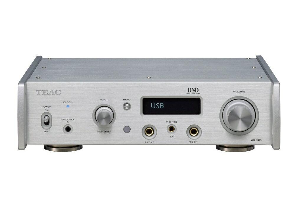 TEAC - UD-505-S/シルバー(USB-DAC内蔵ヘッドホンアンプ)【店頭受取対応商品】【在庫有り即納】