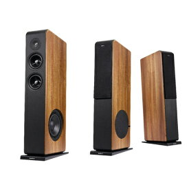 audio-pro - AVANTO FS-20/ウォールナット(ペア)【店頭受取対応商品】【代引不可・在庫有り即納・2〜4営業日でお届け可能です】