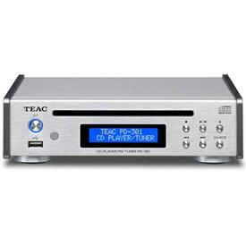 TEAC - PD-301/シルバー(CDプレーヤー)【在庫有り即納】