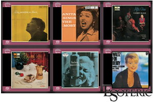 ESOTERIC6QUEENS of JAZZ VOCALESSO-90143/48SACD