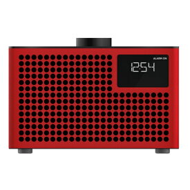 GENEVA Geneva Acustica Lounge Radio Red Bluetooth/ライン入力対応アンプ内蔵スピーカー 875419016849JP