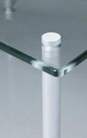 QUADRASPIRE クアドラスパイア 透明ガラス・シルバーポール QAVMS/ GL