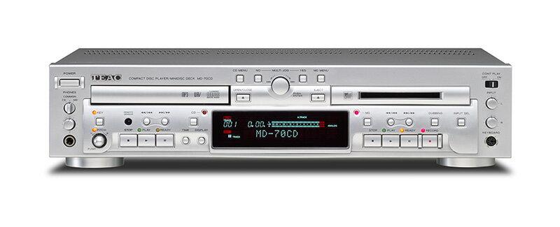 TEAC ティアック CDプレーヤー/MDプレーヤー MD-70CD
