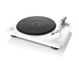 DENON DP-400 ホワイト デノン レコードプレーヤー