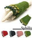 シビラ sybilla指無し冬手袋 ドットドビー日本製 ギフト プレゼント お祝い クリスマス ホワイトデー 誕生日 出産祝い…
