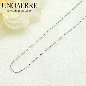ウノアエレ【UNOAERRE】K18WG ホワイトゴールド ネックレス チェーン 12566#3053