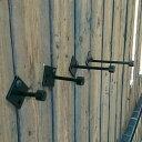 サイズを選べます アイアンフック(ナチュレ)3個セット DIY インダストリアル 男前 シンプル 壁掛け 新築 ウォールフ…