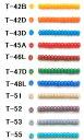 [AB001]TOHOシードビーズ バラパック 丸小・丸大ビーズ(約7g入) ギョク(不透明)【トーホー/グラスビーズ】[RPT]