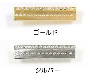 [BC004]MIYUKIブローチ金具レリーフ4.5cm ラインストーン付き BR16 デリカビーズ織り