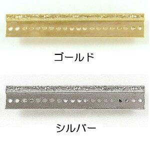 [BC004]MIYUKIブローチ金具レリーフ6cm BR17 デリカビーズ織り