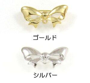 [BC004]MIYUKI ブローチ金具 BR35リボン デリカビーズ織り