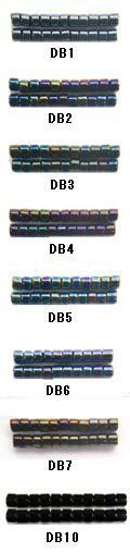 [BA001]MIYUKI デリカビーズ 20g 丸 DB1,DB2,DB3,DB4,DB5,DB6,DB7,DB10【ミユキ MIYUKI】[RPT]