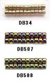 [BA001]MIYUKI デリカビーズ 20g 丸 DB34,DB507,DB508【ミユキ MIYUKI】[RPT]