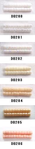[BA001]MIYUKI デリカビーズ 20g 丸 DB200,DB201,DB202,DB203,DB204,DB205,DB206【ミユキ MIYUKI】[RPT]