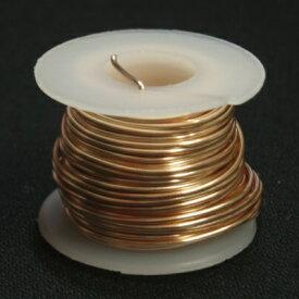 [CC006]アーティスティックワイヤー(Artistic Wire) #28号(0.3mm) 10M巻 ノンターニッシュゴールド[RPT]