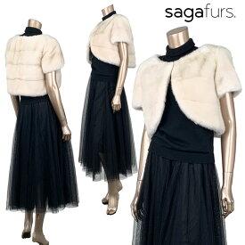 SAGAパールミンク デザインボレロ9号サイズ