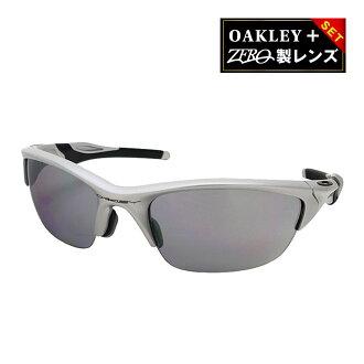 派的亚洲Oak利太阳眼镜半茄克2.0 SLATE IRIDIUM合身HALF JACKET2.0 ASIAN FIT OAKLEY oo9153-02银子