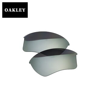 오크리 스포츠 선글라스 교환 렌즈 OAKLEY HALF JACKET2. 0 XL하프 재킷 CHROME IRIDIUM 100-856-004