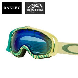 b78b70dc10b Oakley + ZERO our store original custom goggles snow goggle OAKLEY CROWBAR  clover glow bar standard fitting ozcg-crw006