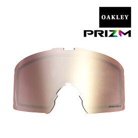 オークリー ラインマイナー ゴーグル 交換レンズ プリズム 101-643-010 OAKLEY LINE MINER XL スノーゴーグル PRIZM BLACK IRIDIUM