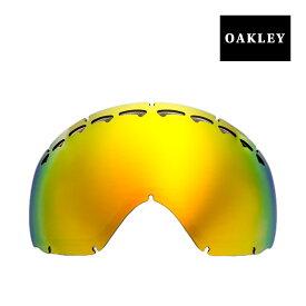 オークリー クローバー ゴーグル 交換レンズ 02-118 OAKLEY CROWBAR スノーゴーグル FIRE IRIDIUM