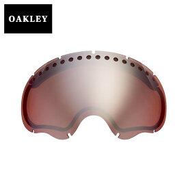 オークリー エーフレーム1.0 ゴーグル 交換レンズ 03-018 OAKLEY A FRAME1.0 スノーゴーグル BLACK ROSE IRIDIUM