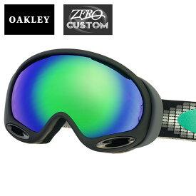 オークリー + ZERO 当店独自カスタム エーフレーム2.0 スタンダードフィット ゴーグル ozcg-afrm023 OAKLEY A FRAME2.0 スノーゴーグル