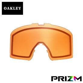 オークリー ラインマイナー ゴーグル 交換レンズ プリズム 101-643-034 OAKLEY LINE MINER スノーゴーグル PRIZM PERSIMMON