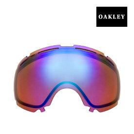 【最大2000円OFFクーポン配布中】 オークリー キャノピー ゴーグル 交換レンズ 02-337 OAKLEY CANOPY スノーゴーグル BLUE IRIDIUM