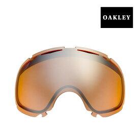 オークリー キャノピー ゴーグル 交換レンズ 02-339 OAKLEY CANOPY スノーゴーグル BLACK IRIDIUM