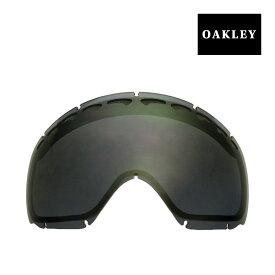 オークリー クローバー ゴーグル 交換レンズ 01-046 OAKLEY CROWBAR スノーゴーグル DARK GREY
