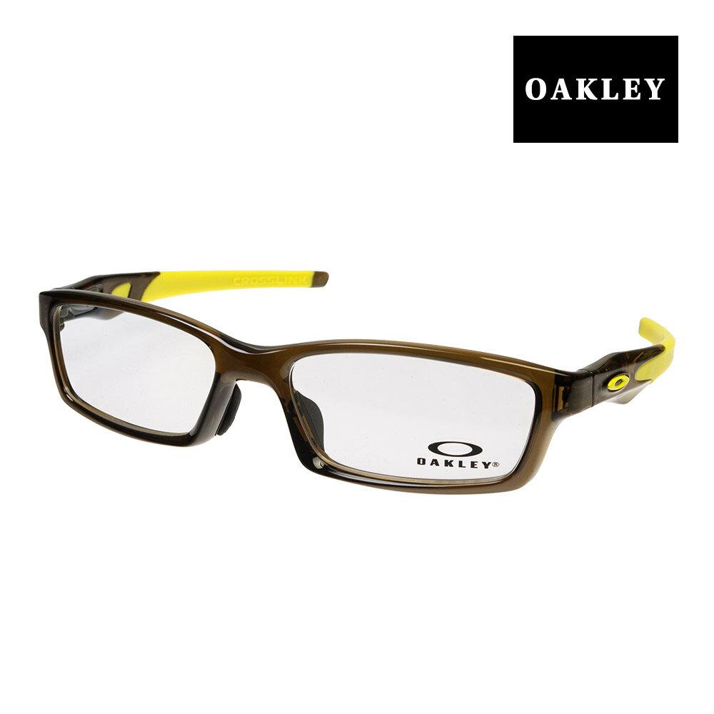オークリー メガネ OAKLEY CROSSLINK アジアンフィット ジャパンフィット ox8118-0756