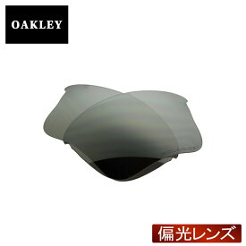 【最大2000円OFFクーポン配布中】 オークリー フラックジャケット サングラス 交換レンズ 偏光 13-662 OAKLEY FLAK JACKET XLJ スポーツサングラス BLACK IRIDIUM POLARIZED