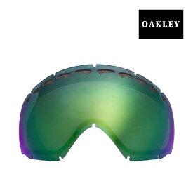 オークリー クローバー ゴーグル 交換レンズ 59-688 OAKLEY CROWBAR スノーゴーグル JADE IRIDIUM