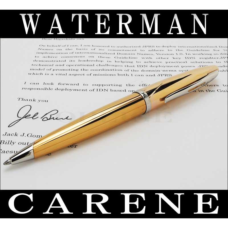 ウォーターマン 筆記具 ボールペン WATERMAN カレン ピンクゴールドST mowr2011-bp