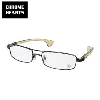 铬心 /CHROME 心眼镜框架异样颜色闪亮黑/WHITEPLASTIC/乌木木