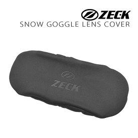 ゼック アクセサリー ゴーグル スノーゴーグル用 レンズカバー ZECK GOGGLE LENS COVER BLACK zkcare-g-cover