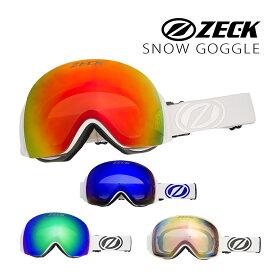スノーゴーグル ゴーグル ZECK ゼック FZ-16J アジアンフィット WHITE スノーボード スキー ダブルレンズ スノーゴーグル
