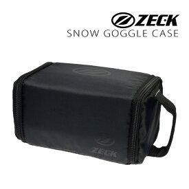ゼック ゴーグル スノーゴーグル ケース ZECK SOFT GOGGLE CASE ソフトゴーグルケース BLACK zkg-case