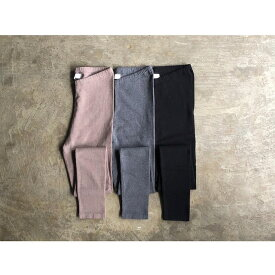 【SOIL】ソイル COTTON CASHMERE LEGGINGS style No.GNSL19522