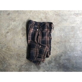 【melple】メイプル『BED TO PARK』Cotton Linen Easy Pants style No.19FW-MP037