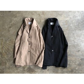 《SERVICE PRICE 30割》【STILL BY HAND】スティル バイ ハンド Rayon Blend Open Collar Jacket style No.JK03201