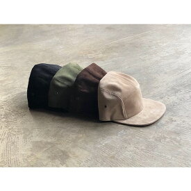 【Winner Caps】 ウィナーキャップ SUEDE CAMP CAP style No.Winner Caps-19SS