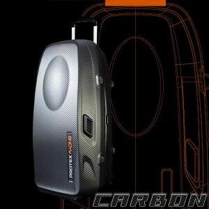 送料無料 PROTEX Racing r-2 CARBON トラベルキャリー 容量約79L 受託手荷物対応【店頭受取対応商品】
