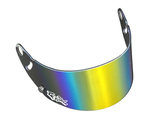 GAZE ゲイズ ミラーバイザー (ゴールド) アライヘルメット GP-6 SK-6 シリーズ レーシングカート 4輪用 走行会【店頭受取対応商品】