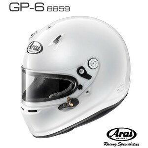 送料無料 Arai アライヘルメット GP-6S 8859 L(59) レーシングカート 4輪用 走行会【店頭受取対応商品】